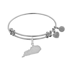 Brass with White Finish Kentucky Charm for Angelica Bangle