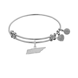 Brass with White Finish Tennessee Charm for Angelica Bangle