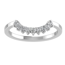 Prong Nine Stone Tiara Band