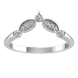 Art Deco Chevron Tiara Band