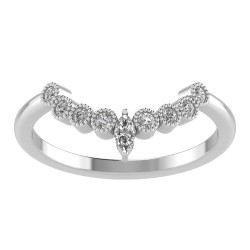 Small Marquise Nine Stone Tiara Band