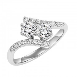 Twogether Diamond Ring  1 1/2Ctw