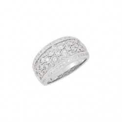 14K White 1 CTW Diamond Ring