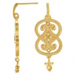 Granulated Earrings