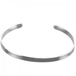 Sterling Silver Cuff Bracelet - 4.75mm