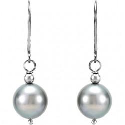 Freshwater Cultured Pearl Lever Back Earrings