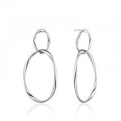 Silver Swirl Nexus Earrings