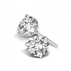 Martini Diamond Studs 3.23ctw