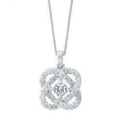 Loves Crossing diamond pendant 1.50ctw