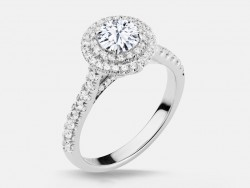 Naledi Maxine Engagement Semi Mount Ring