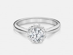Naledi Esmie Engagement Semi Mount Ring
