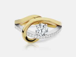 Naledi Taryn Engagement Semi Mount Ring