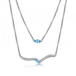 N10027WBTZ16 Capture necklace