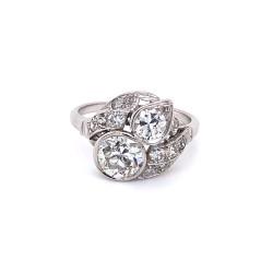 1.74ctw Vintage Diamond Ring