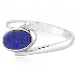 Opal Doublet Ring