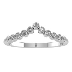 Chevron Pronged Tiara Band
