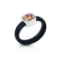 Diana Black/Champagne Ring