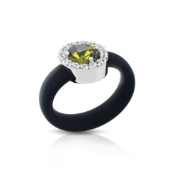 Diana Black/Olive Ring