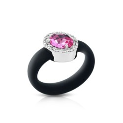 Diana Black/Pink Ring