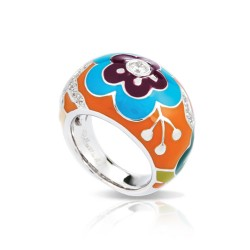 Cherry Blossom Orange Ring