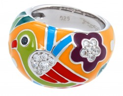 Perroquet Yellow Ring
