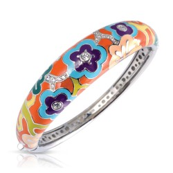 Cherry Blossom Orange Bangle