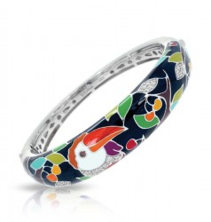 Love Toucan Black Bangle