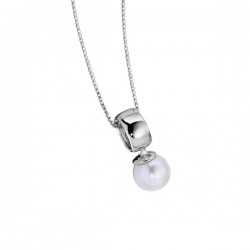 N0099 Pretty in Pearl Necklace
