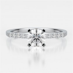 Naledi Regis Engagement Semi Mount Ring