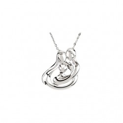 Embraced by the Heart� Family Necklace
