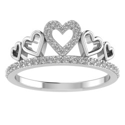 Queen of my Heart Tiara Ring