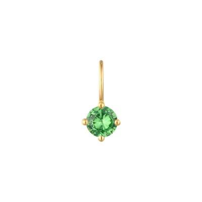May Green Tsavorite Necklace Charm