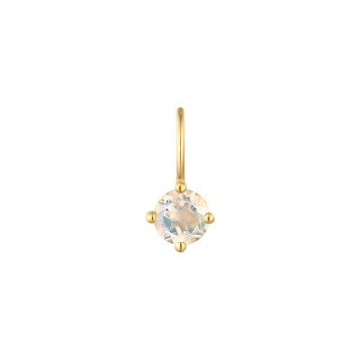 June Moonstone Necklace Charm