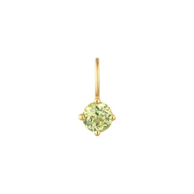 August Peridot Necklace Charm
