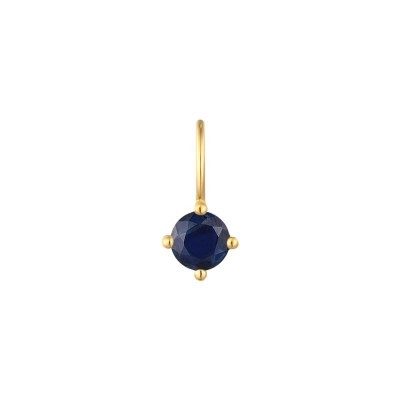September Sapphire Necklace Charm