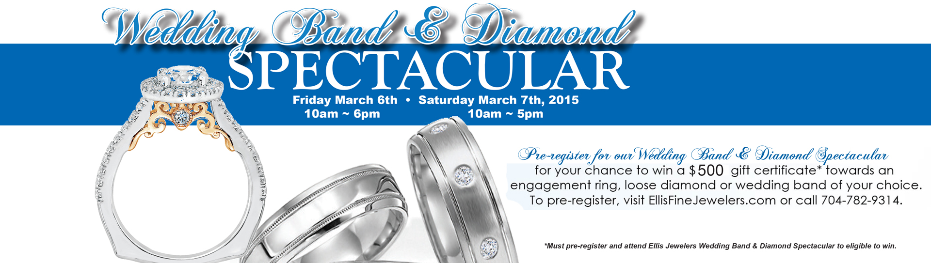 Wedding Band & Diamond Spectacular