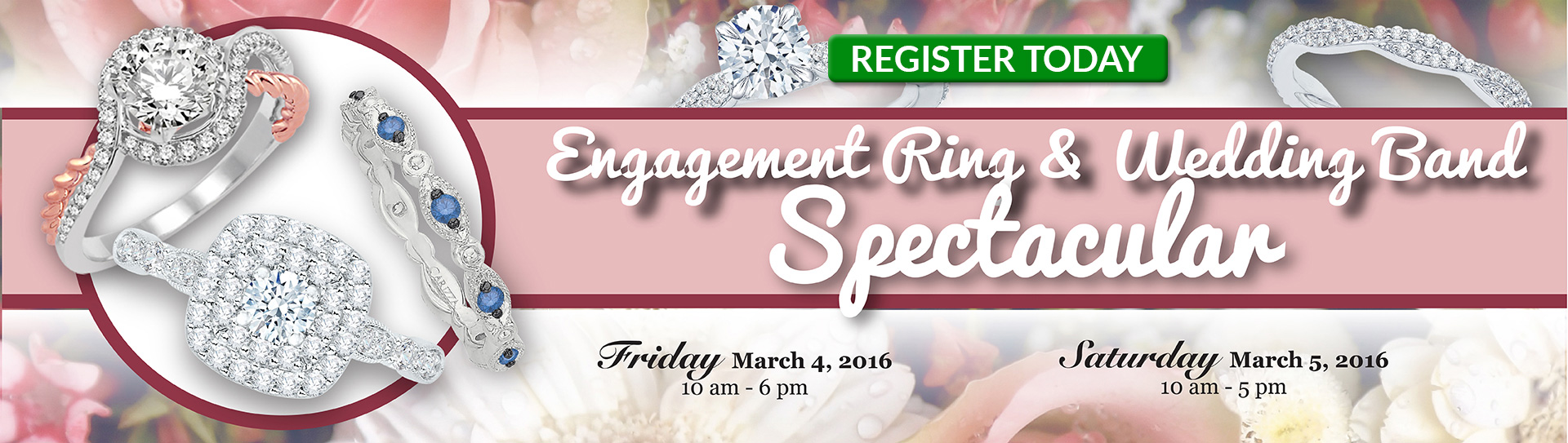 Engagement Ring and Diamond Spectacular Event