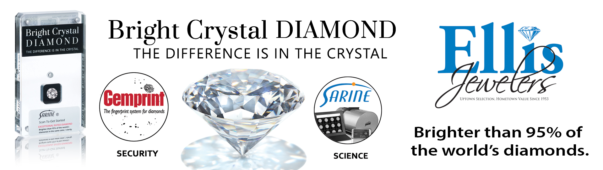 Bright Crystal Diamond