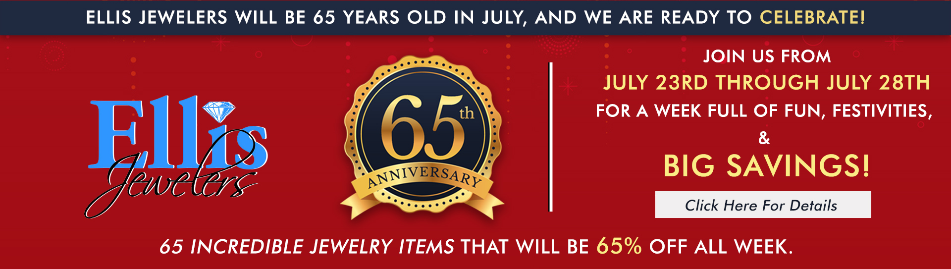 65th Anniversary Event