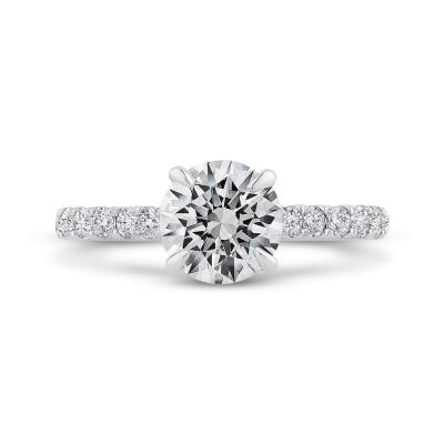 Semi-Mount Engagement Rings