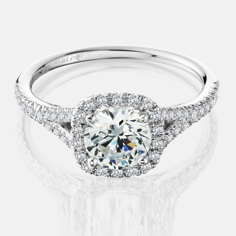 Naledi Adriana Semi Mount Engagement Ring