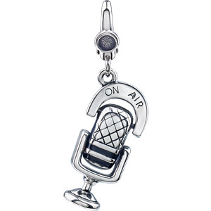 Microphone charm