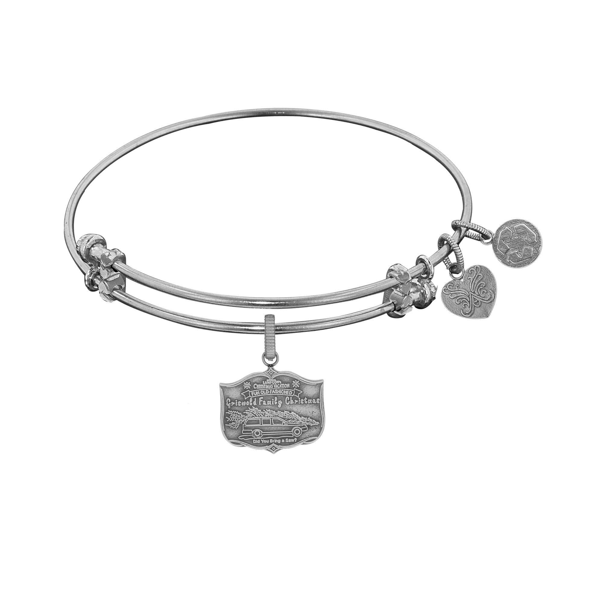 Rose Quartz Bead 50mm Diameter Angelica Bangle Bracelet